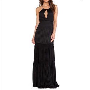 NWT Diane Von Furstenberg Aden Black Dress Size 0